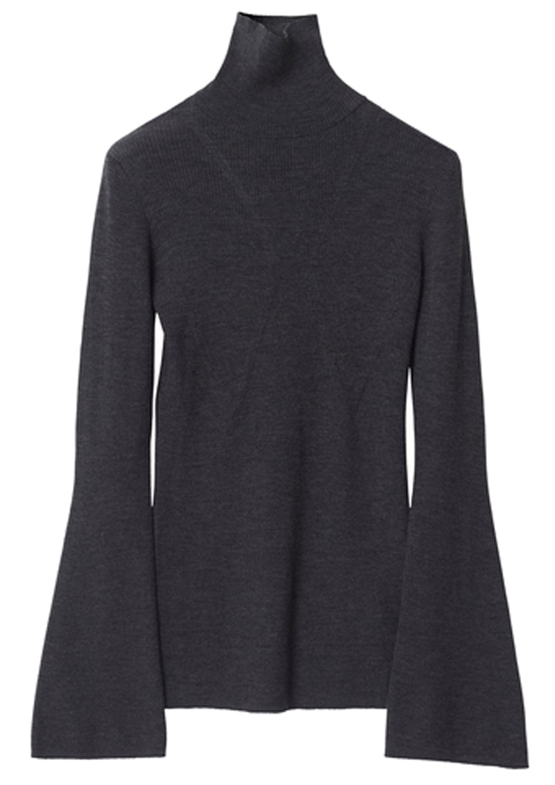 Day Birger et Mikkelsen Jasmine Knitted Top - Dark Grey Melange main image
