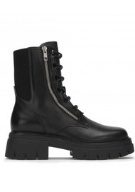 Ash Lets Mustang Military Boot - Black