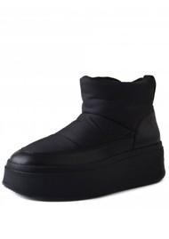 Ash Maxi Puffy Boots - Black