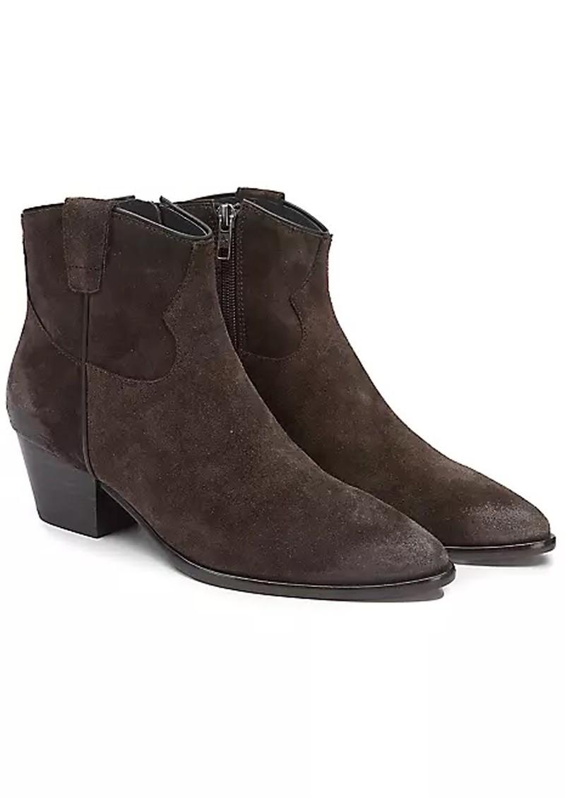 Ash Houston Brushed Suede Boots - Ebano main image