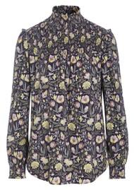 DEA KUDIBAL Eva High Neck Printed Tunic Top - Autumn Bouquet