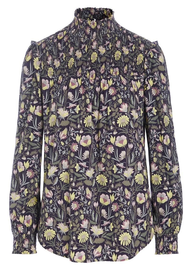 DEA KUDIBAL Eva High Neck Printed Tunic Top - Autumn Bouquet main image