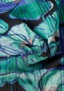 Frida Long Printed Maxi Dress - Aqua Poppies additional image