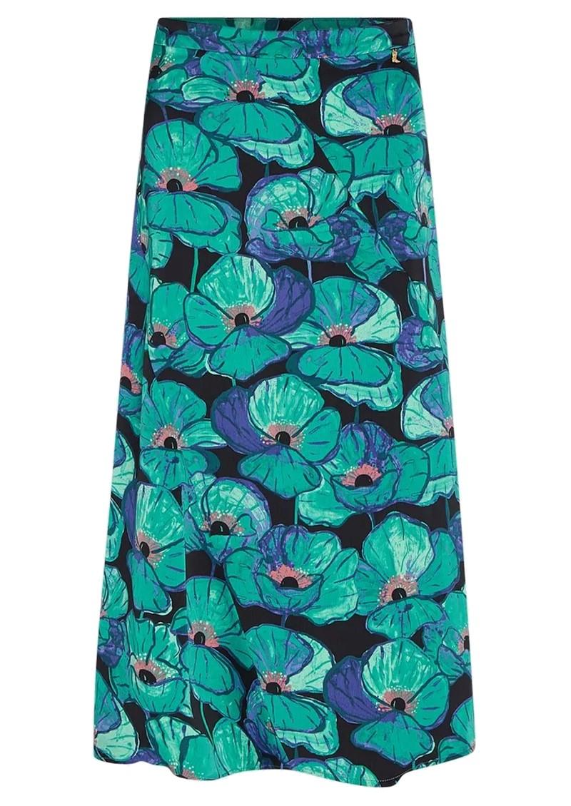 FABIENNE CHAPOT Claire Skirt - Aqua Poppies main image
