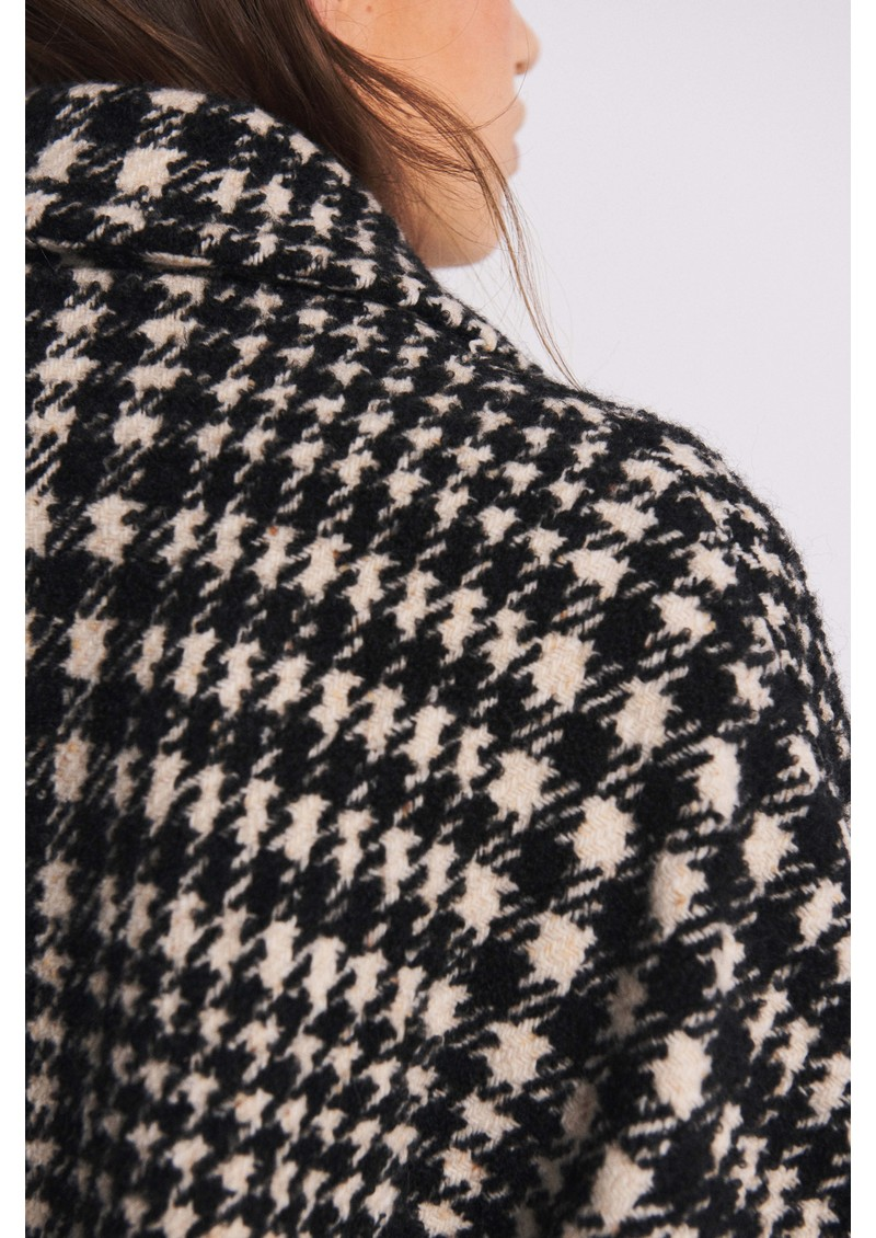 Ba&sh Woody Wool Mix Coat - Ecru main image
