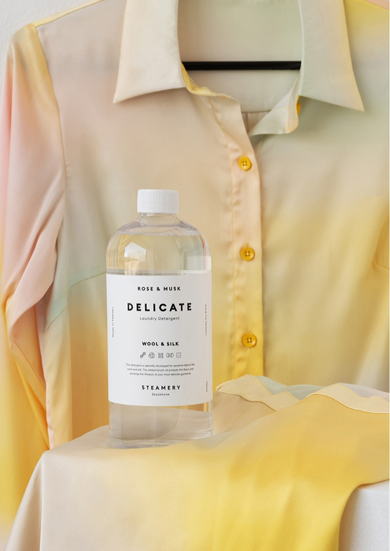 STEAMERY Delicate Laundry Detergent 750ml - Rose & Musk main image