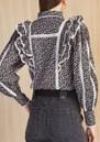 Jacky Cotton Shirt - Floral Dark additional image