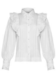 MAGALI PASCAL Jacky Cotton Shirt - Off White
