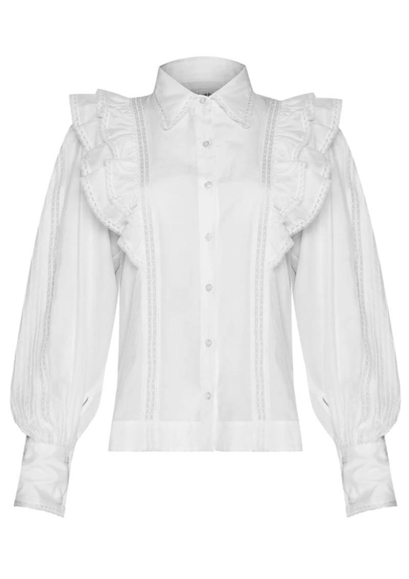 MAGALI PASCAL Jacky Cotton Shirt - Off White main image