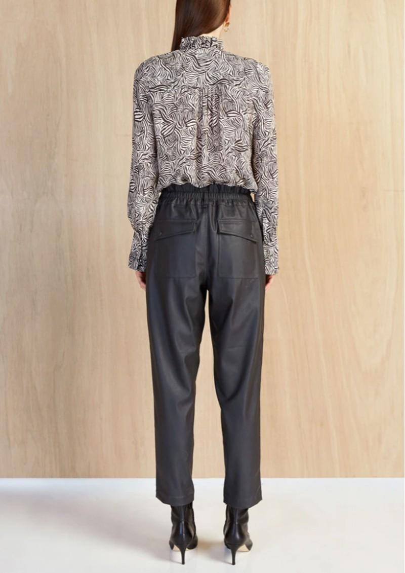 MAGALI PASCAL Bianca Silk Mix Shirt - Zebra main image