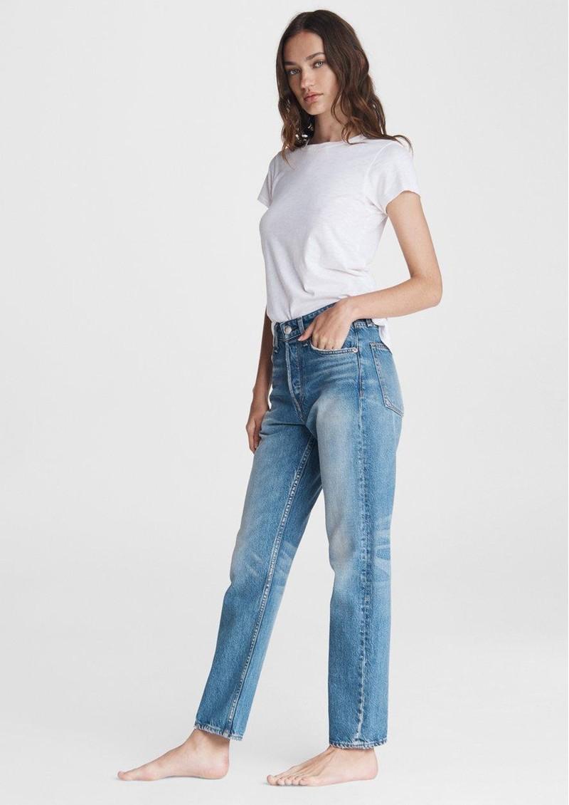 RAG & BONE Nina High Rise Cigarette Jeans - Alexis main image