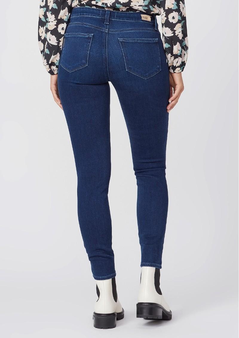 Paige Denim Muse Mid Rise Transcend Skinny Jeans - Model main image