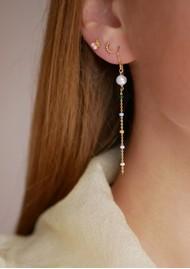 ENAMEL COPENHAGEN Lola Perlita Drop Earrings - Gold