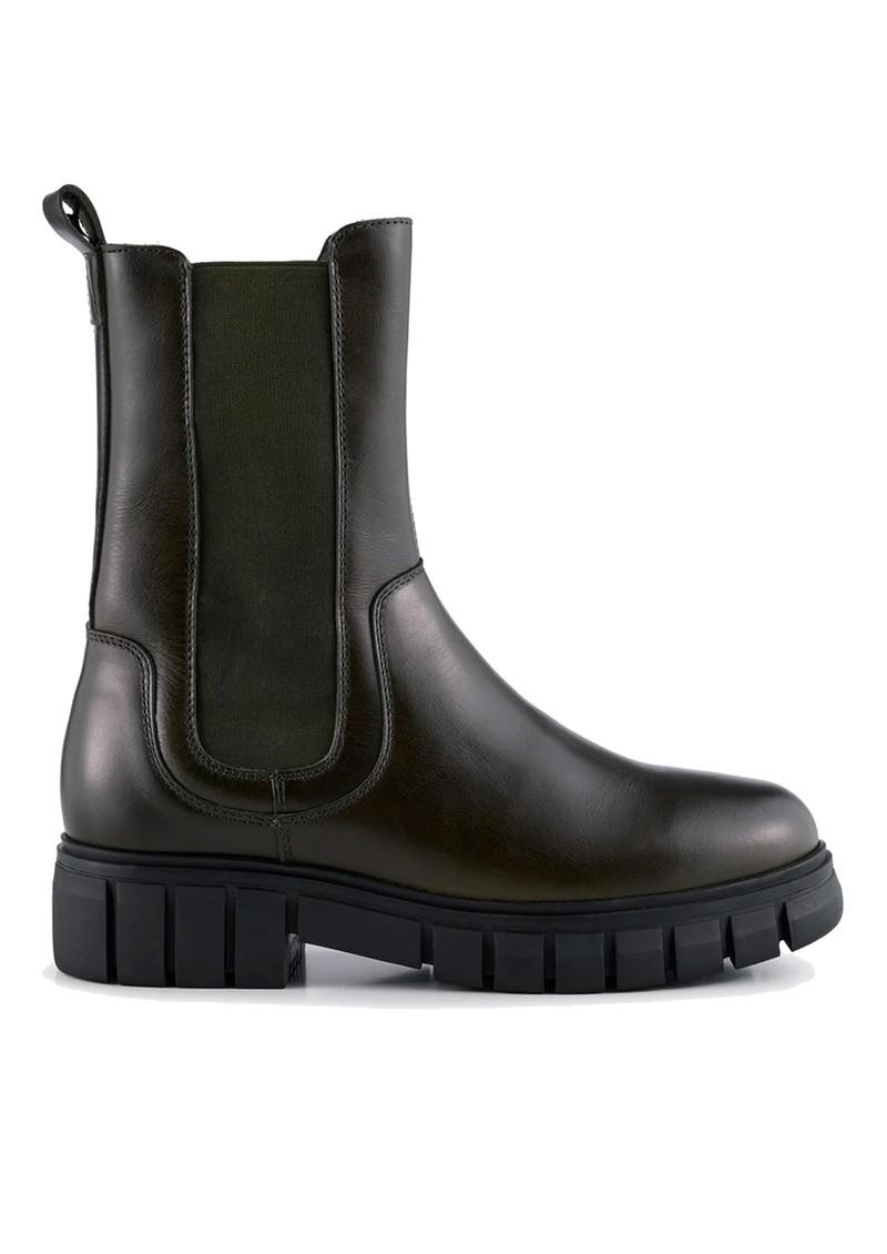 SHOE THE BEAR Rebel Chelsea High Leather Boots - Khaki main image
