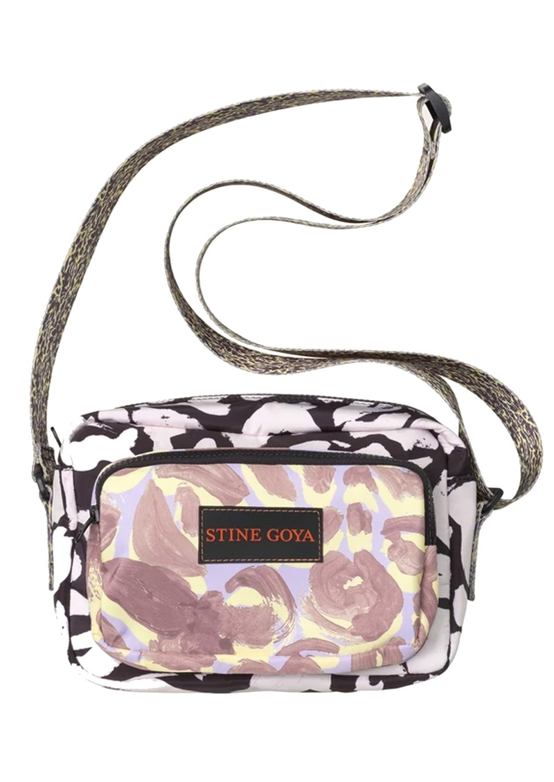 STINE GOYA Lotta Shoulder Bag - Abstract Leaf main image