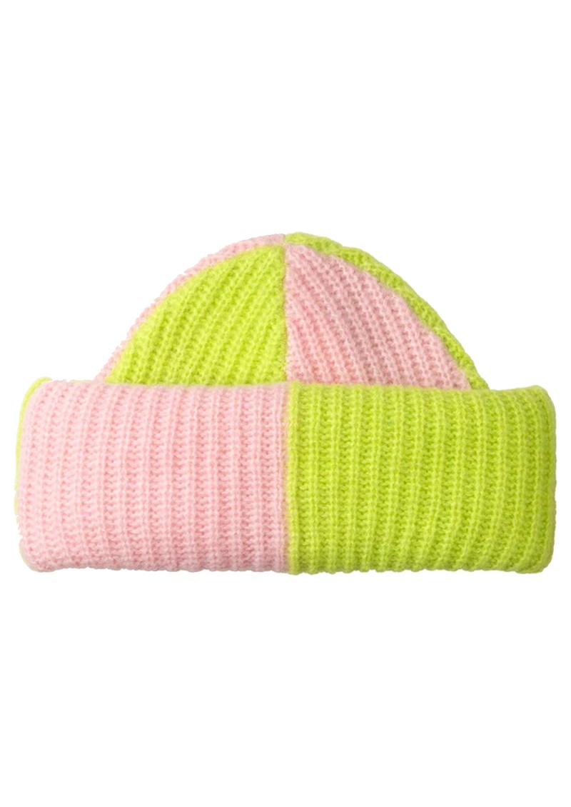 STINE GOYA Cleo Beanie Hat - Checks main image