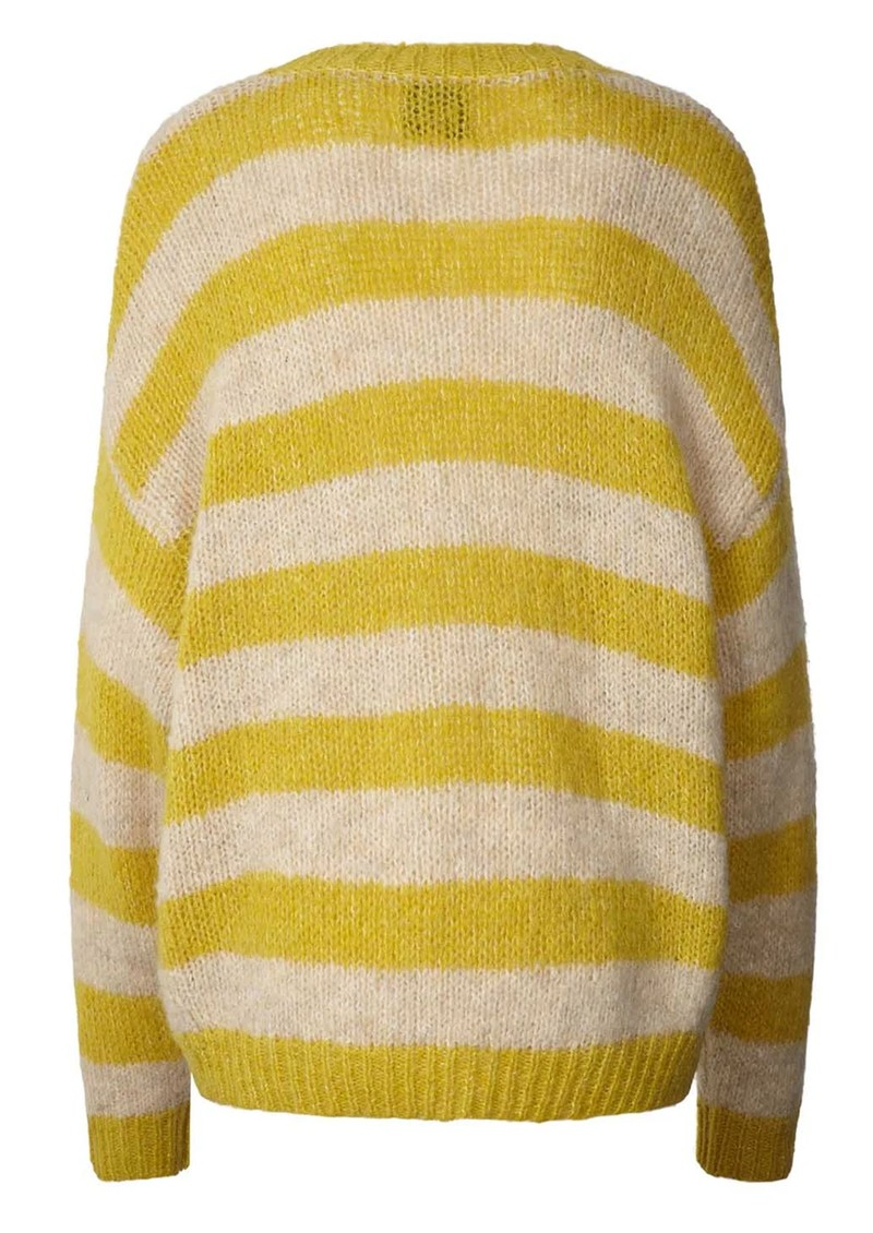 LOLLYS LAUNDRY Terry Stripe Jumper - Yellow  main image