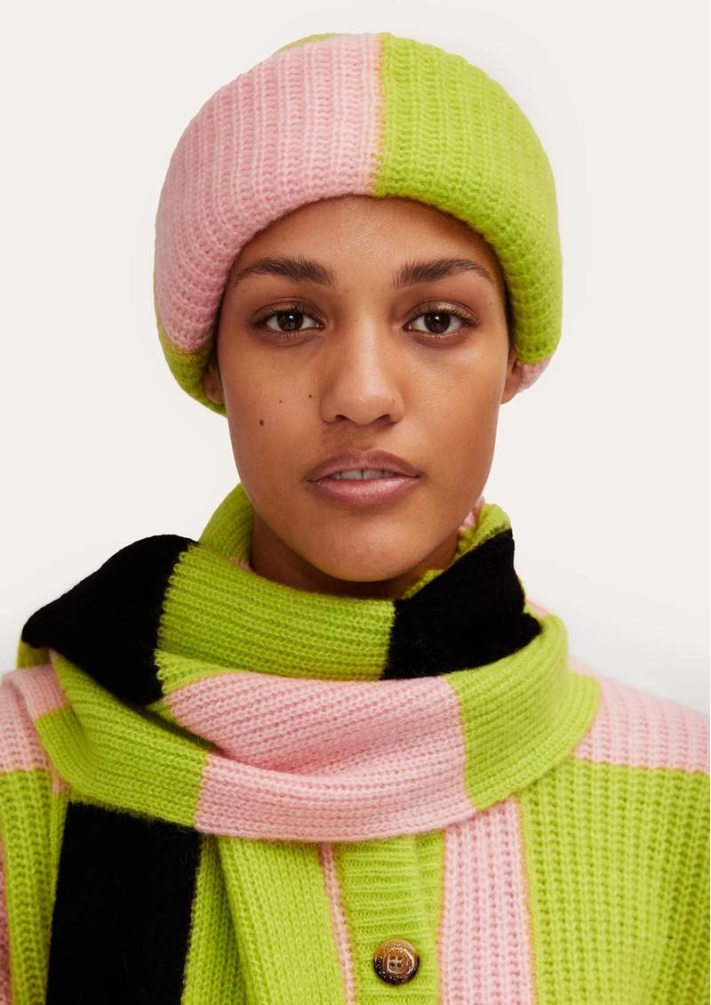 STINE GOYA Orphea Wool Mix Scarf - Checks main image