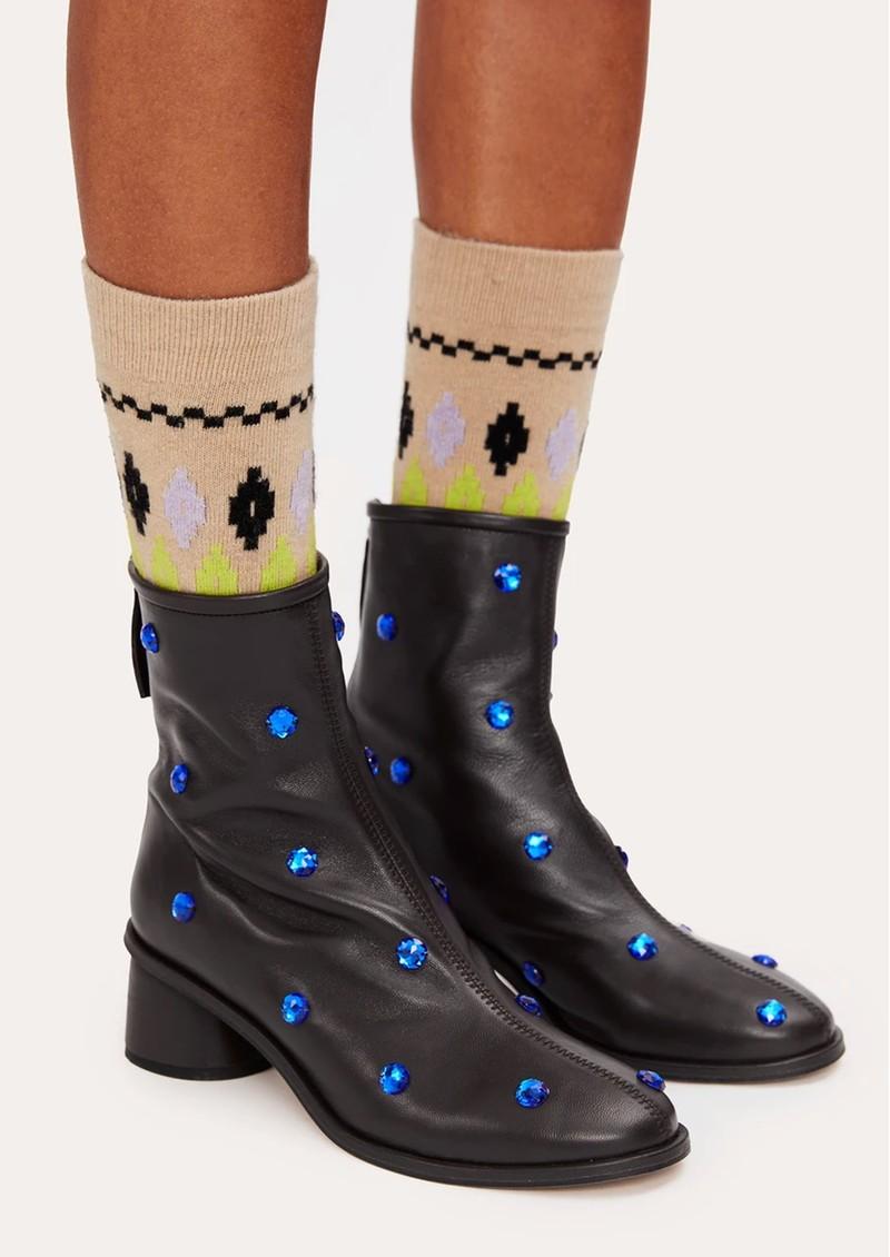 STINE GOYA Tilly Socks - Fair Isle main image