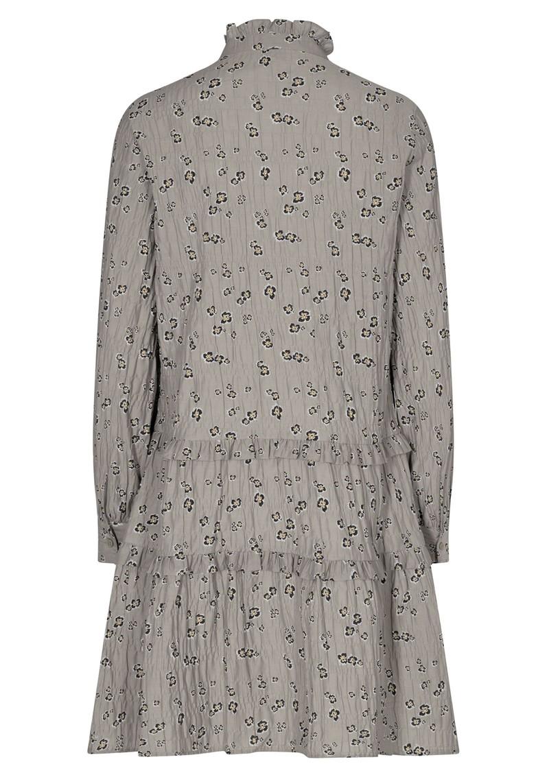 LEVETE ROOM Odette 2 Printed Dress - Grey main image