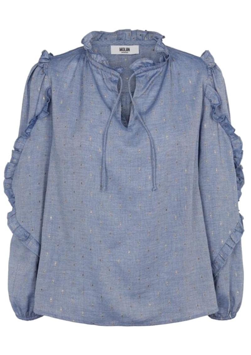 MOLIIN Taylor Organic Cotton Shirt - Chanbrey Blue main image