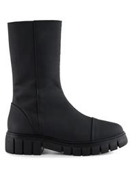 SHOE THE BEAR Rebel High Shaft Leather Boots - Matte Black