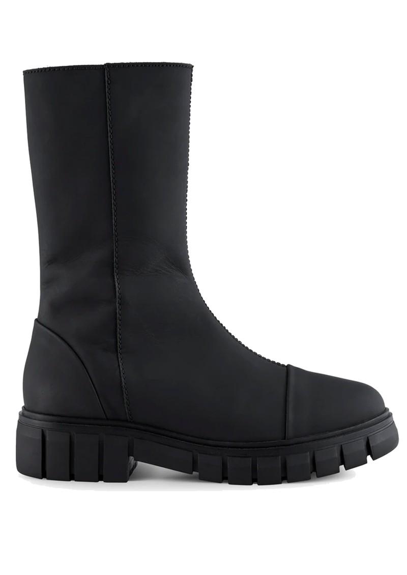 SHOE THE BEAR Rebel High Shaft Leather Boots - Matte Black main image