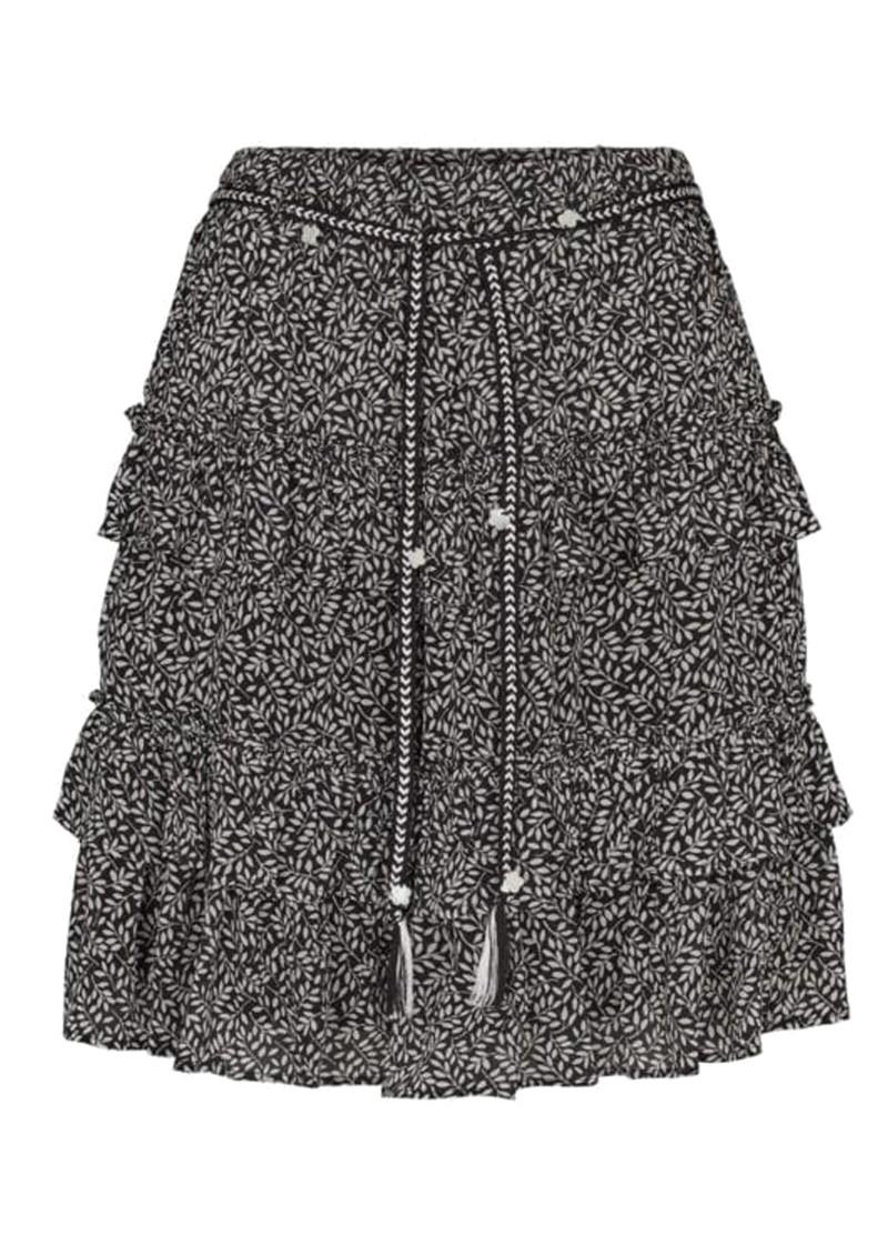 MOLIIN Harmoni Printed Rah-Rah Skirt - Black main image