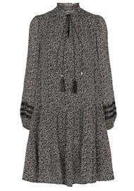 MOLIIN Alba Printed Dress - Black