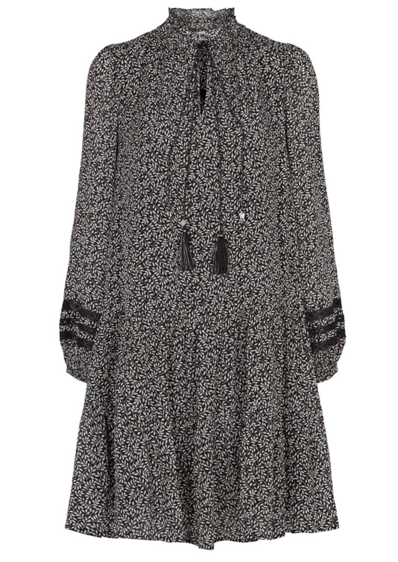 MOLIIN Alba Printed Dress - Black main image