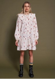 STELLA NOVA Sassi May Cotton Printed Dress - Cream Cherries