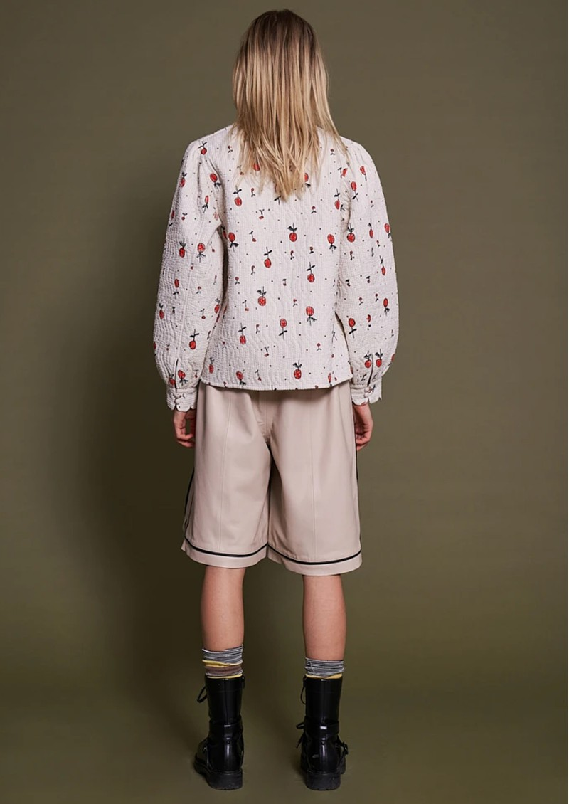 STELLA NOVA Mabel Cotton Jacket - Cream Cherries  main image