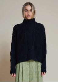 STELLA NOVA Kira Knitted Jumper - Black