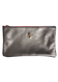 Sous Les Paves Tsutsuki Gold Bee Leather Clutch - Canon