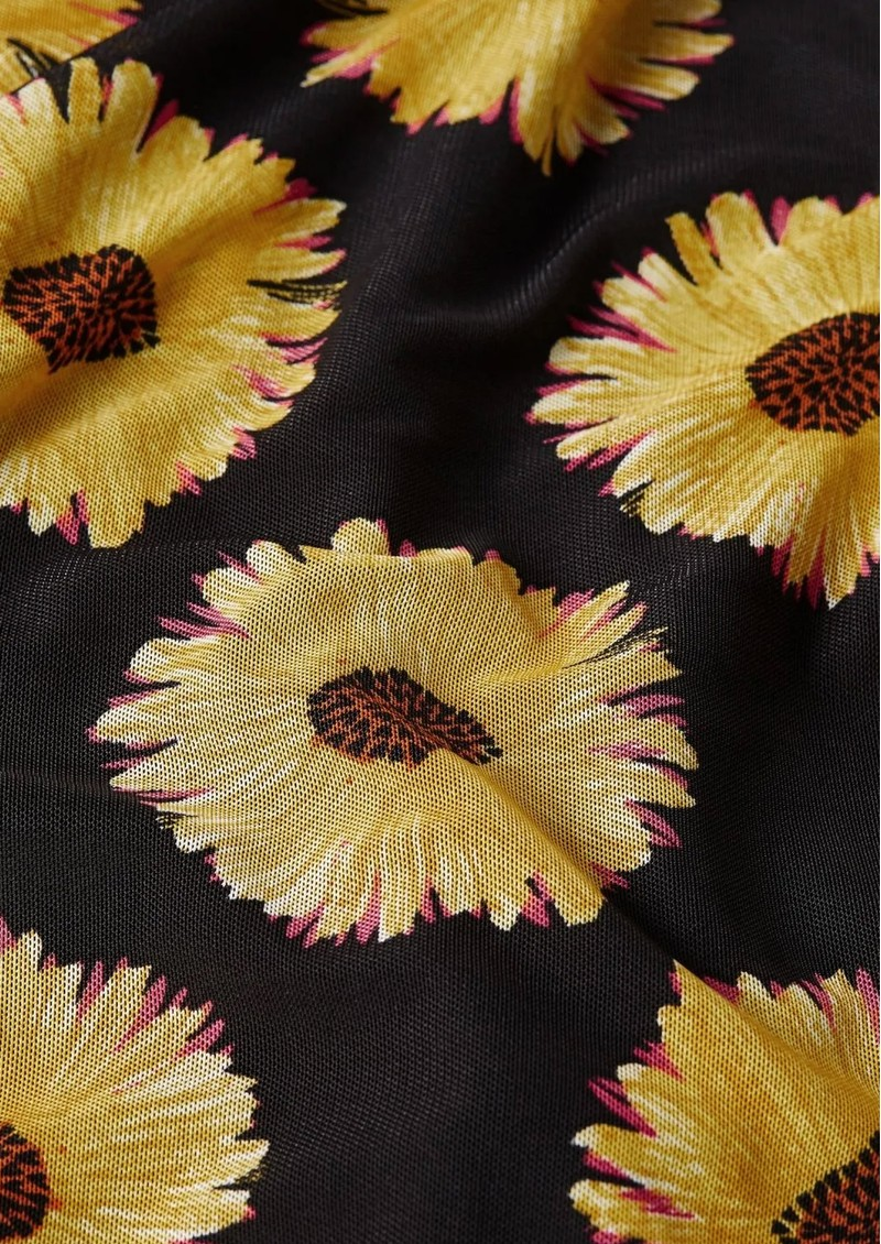 FABIENNE CHAPOT Bobo Frill Wrap Skirt - Sunset Flowers Small main image