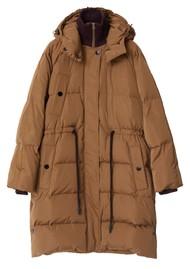 Day Birger et Mikkelsen Edward Short Winter Puff Solid Coat - Kangaroo