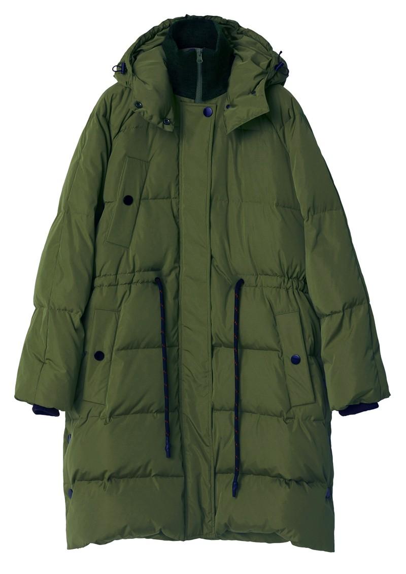 Day Birger et Mikkelsen Edward Short Winter Puff Solid Coat - Rosin main image