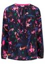 Fenton Silk Blouse - Fireworks Agate additional image