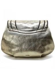 NOOKI Kingsley Shoulder  Metallic Bag - Gold