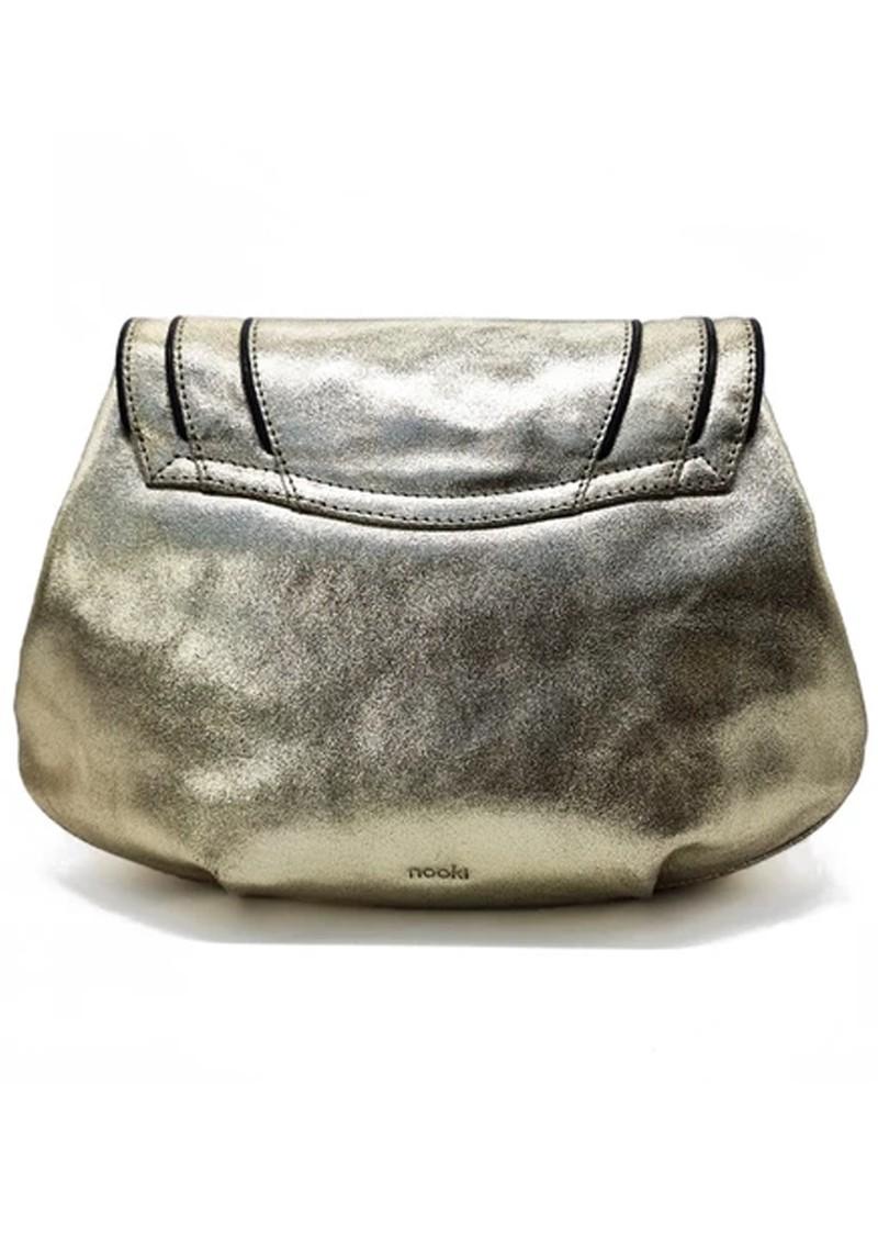 NOOKI Kingsley Shoulder  Metallic Bag - Gold main image