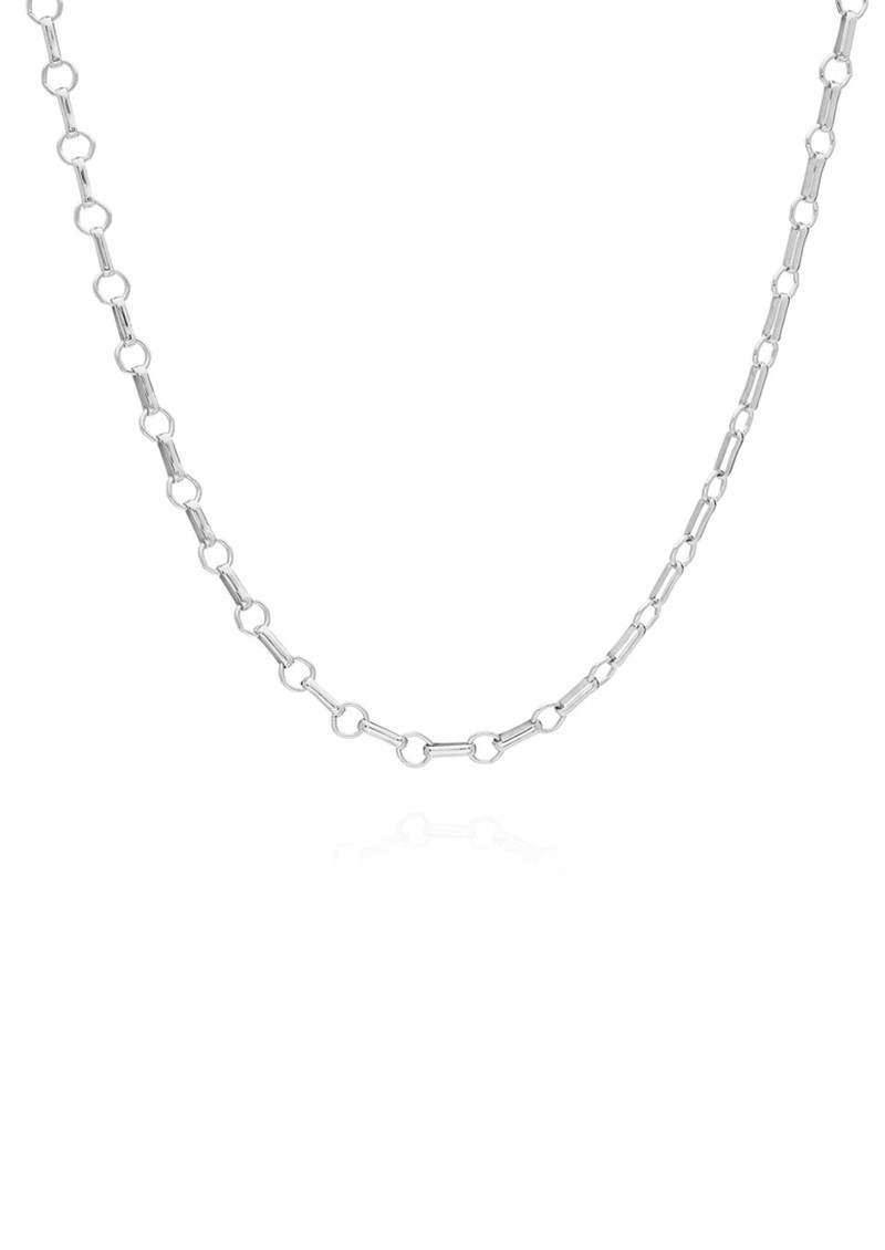 ANNA BECK Bar & Ring Chain Necklace - Silver main image