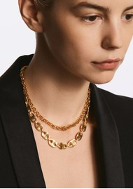 ANNA BECK Rolo Chain Collar Necklace - Gold