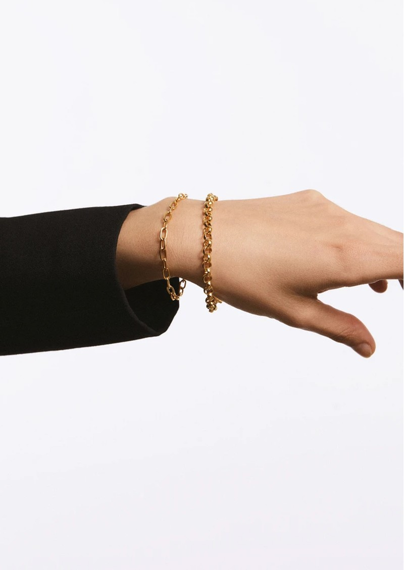ANNA BECK Rolo Chain Bracelet - Gold main image