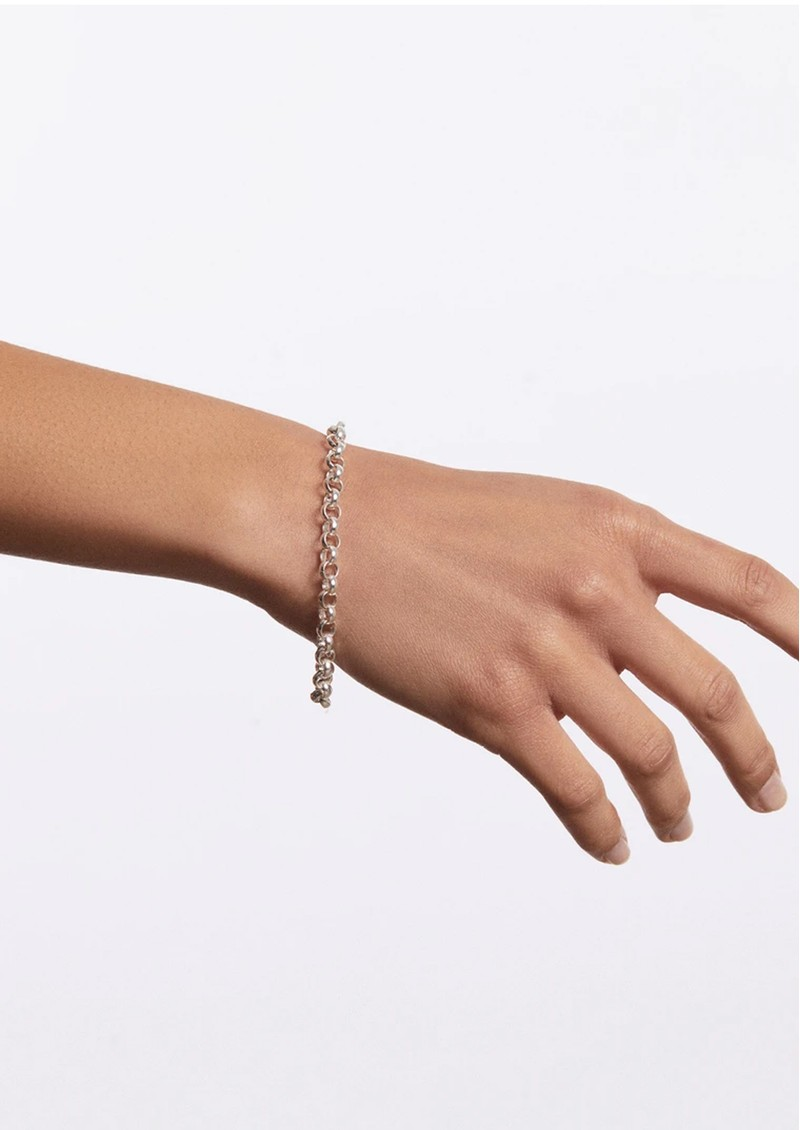 ANNA BECK Rolo Chain Bracelet - Silver main image