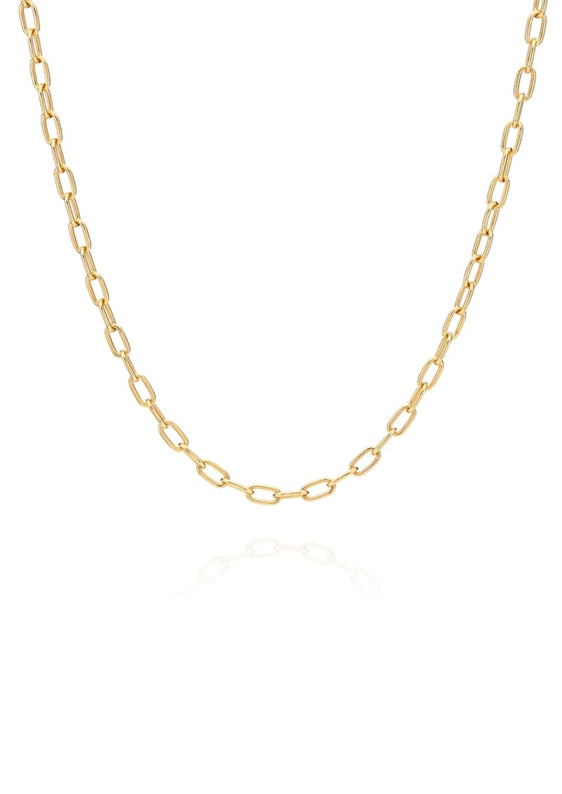 ANNA BECK Elongated Oval Chain Necklace - Gold main image