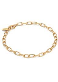 ANNA BECK Elongated Oval Chain Bracelet - Gold