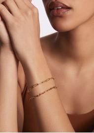 ANNA BECK Elongated Box Bracelet - Gold