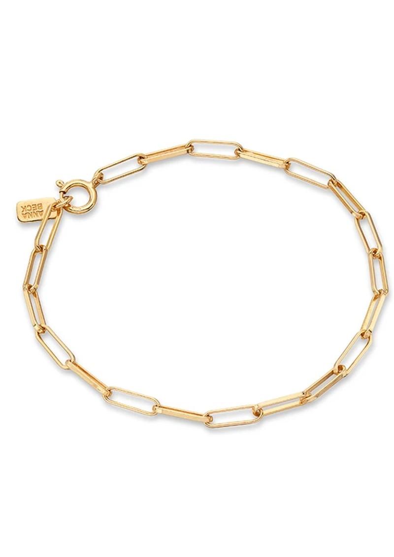 ANNA BECK Elongated Box Bracelet - Gold main image