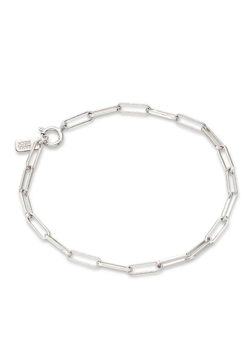 ANNA BECK Elongated Box Bracelet - Silver main image