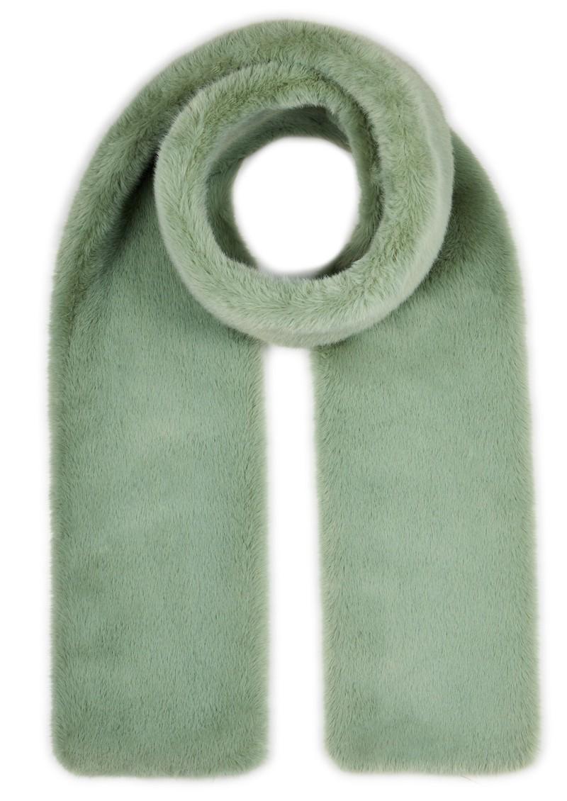NOOKI Coco Faux Fur Scarf - Sage main image